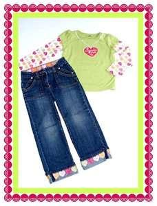 Huge GYMBOREE CRAZY8 Fall Clothe Jean Shirt Lot 4T Girl