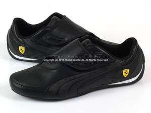 Puma Drift Cat III SF CF Scuderia Ferrari Black Black Racing Leather