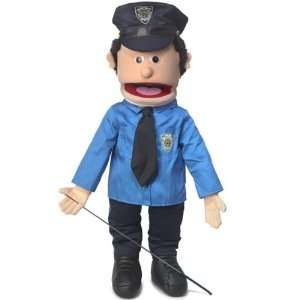 Policeman, 25In Full Body Puppet, Peach  Affordable Gift