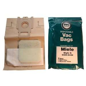 Type G Miele Vacuum Cleaner Replacement Bag (5 Pack) w