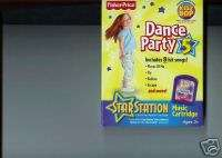 Fisher Price Star Station Dance Party Cartridge #5