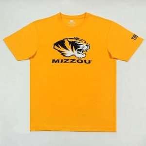 Missouri Tigers Mizzou Mens Short Sleeve T Shirt