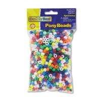 Chenille Kraft® Pony Assortd Color Beads 1,000 pk Member Reviews