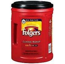Folgers® Classic Roast Ground Coffee   48 oz.
