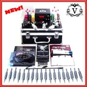 VALSTURD 3 tattoo ROTARY machine GUN kit DVD & FLASH CD