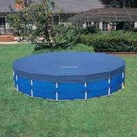 Intex Family Sized Metal Frame Above Ground Pool Set   18 x 48