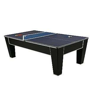 8ft Cobalt Billiard Table with Table Tennis Top  Sportcraft Fitness