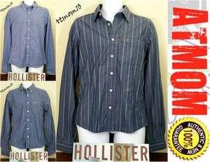 NWT Hollister Men Casual Shirt Button Front Long Sleeve M L XL
