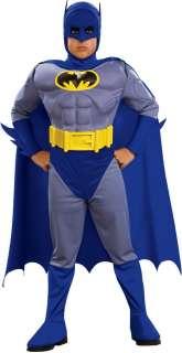 Batman Original Deluxe Muscle Halloween Costume Child
