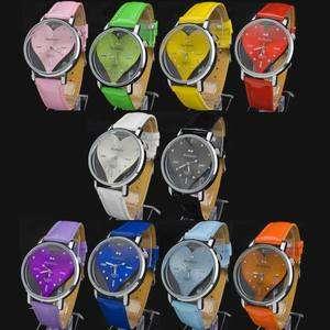 With Heart Build Fashion New Lady Women Quartz Wrist Watch PIZ
