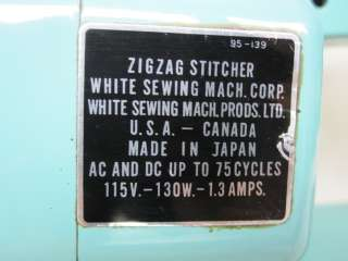 HEAVY DUTY WHITE 1563 INDUSTRIAL STRENGHT SEWING MACHINE