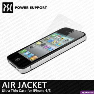 Power Support Air Jacket Ultra Thin Scratch Repair Hard Case iPhone 4