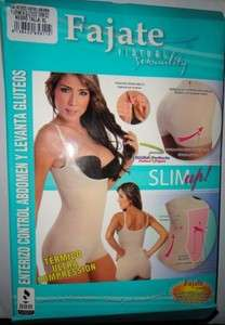 Faja Colombian Shapewear Full Body Shaper Abdomen Control, #1384,XL