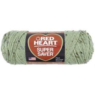 Red Heart Super Saver Yarn 4361 Frosty Green Fleck 5 oz