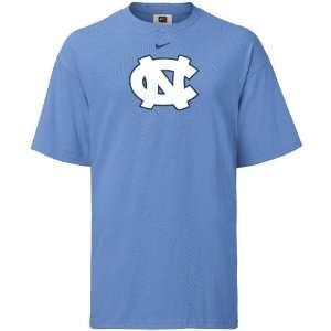 Nike UNC Tarheels Logo Short Sleeve T Shirt