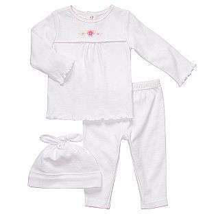 Newborn Girls 3 Piece Layette Set  Carters Baby Baby & Toddler