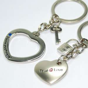 Ture Love Lover Couple Key Chain Ring KeyChain