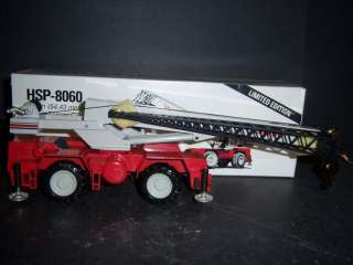 NZG LINK BELT HSP 8060 60 ton ROUGH TERRAIN CRANE 1:50 Scale Y899 BB