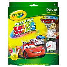 Deluxe Coloring Kit   Disney Pixar Cars 2   Crayola