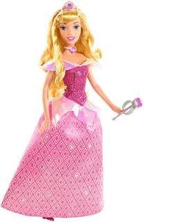 Gem Princess Sleeping Beauty Aurora Doll   Mattel