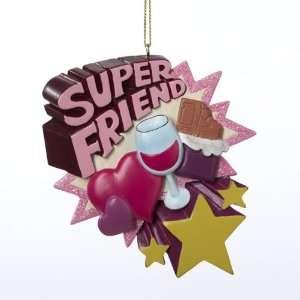 Club Pack Of 12 Tween Christmas Pink Super Friend Holiday