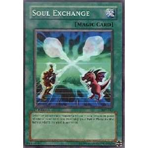 Soul Exchange   Starter Deck Yugi   Super Rare [Toy] Toys & Games