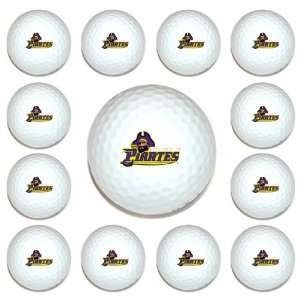 East Carolina Pirates Team Logo Golf Ball Dozen Pack   Golf