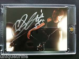 SNSD Star Card Season 2 Autographed Sooyoung GG2 002 Official Auto