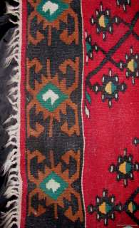 HUGE VINTAGE ANTIQUE NATIVE AMERICAN RUG HAND WOVEN TEXTILE INDIAN ART