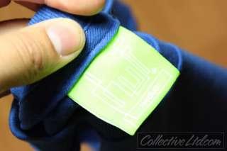HUF SF Logo Tee Shirt hundreds ROYAL BLUE Medium M