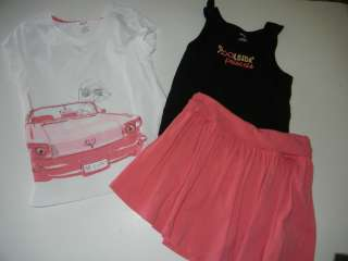 Gymboree Palm Beach Paradise Car Pool Top Skorts 9