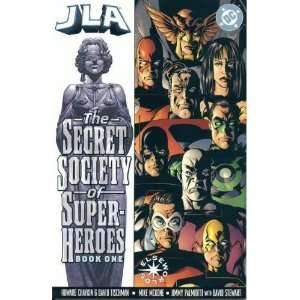 JLA the Secret Society of Super Heroes Book One Books