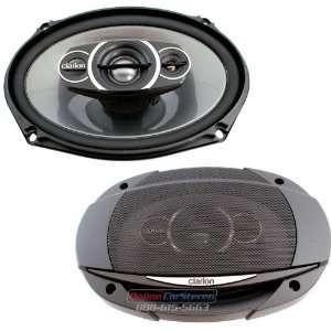 Clarion   SRQ6933R   Full Range Car Speakers Electronics