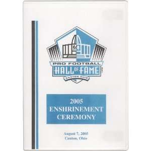 NFL Pro Football Hall of Fame Class of 2005 DVD Sports