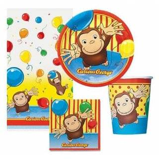 Curious George   Party Supplies   Cake Decoration Kit