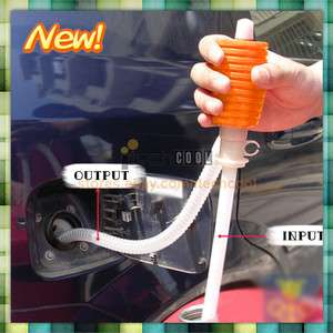 Practical Portable Utility Car Water Oil Liquid Transfer Pump Sucker