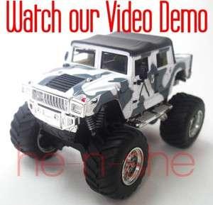 43 Scale Mini Radio Remote Control RC Pickup Monster Truck Jeep