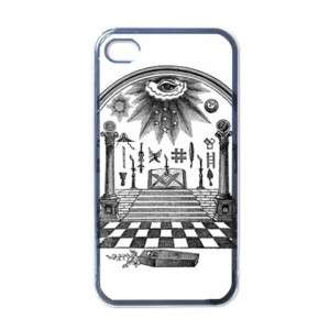 Freemason Masonry Masonic Black Apple iphone 4 Case