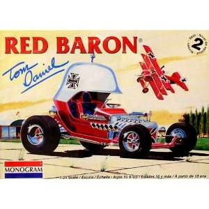 Tom Daniels Red Baron Custom Show Car w/Triplane 1 24