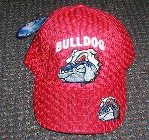 CH20 RED BULL DOG HAT MESH AIR VENT BACKING BALL CAP georgia