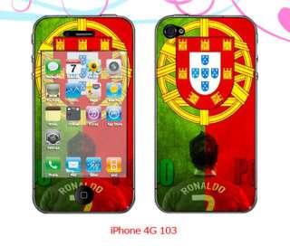 iPhone 4G C.Ronaldo Skin Sticker(4G103)