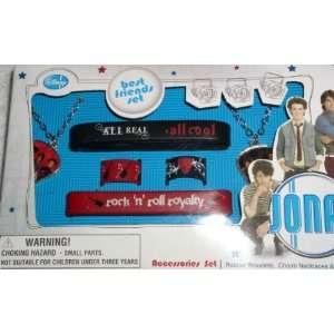 com Disney Jonas Brothers Best Friends Set   Rubber Bracelets, Charm