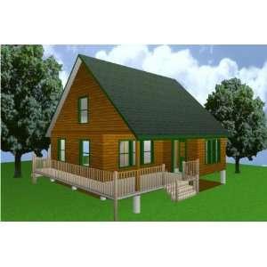 24x40 cabin w loft plans package blueprints material list for 24x40 cabin plans