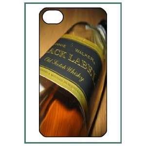 Johnny Walker iPhone 4 iPhone4 Black Designer Hard Case Cover