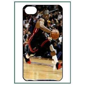 Dwyane D Wade Miami Heat NBA iPhone 4 iPhone4 Black Designer Hard Case
