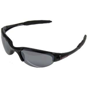 NCAA Troy University Trojans Black Half Frame Sport Sunglasses