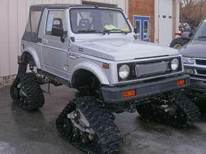 1986 Suzuki Samurai Conversion Chevy Vortec Engine, Mattracks in UTVs