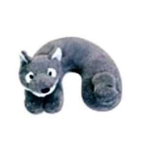 Cloudz Kidz Plush Neck Pillow (Wolf) Home & Kitchen