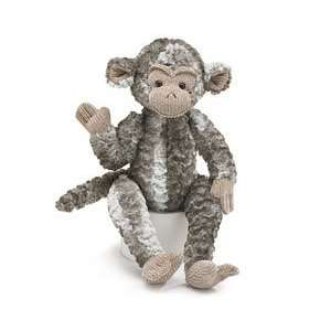 Cute Brown and White Soft Plush Monkey 15 H [Toy] Toys & Games