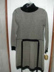 An Original Milly of New York Black White Dress Size 8